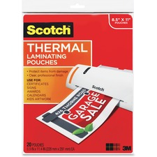 MMM TP385420 3M Scotch Thermal Laminating Pouches MMMTP385420