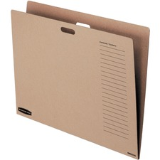 FEL 3380101 Fellowes Bankers Box Tan Chart Storage Box Folder FEL3380101