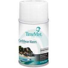 TMS 335324TMCAPT TimeMist Metered Dispenser Carribean Scent Refill TMS335324TMCAPT