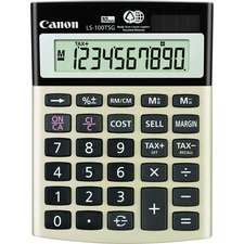 CNM LS100TSG Canon LS100TSG Mini-desktop Calculator  CNMLS100TSG