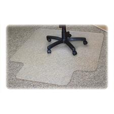 Advantus RecyClear Carpet Chair Mat