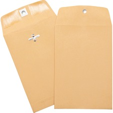 BSN 36672 Bus. Source Heavy-duty Clasp Envelopes BSN36672
