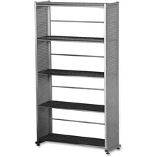 Mayline 995ANT Bookcase 5-Shelf, 31-1/4