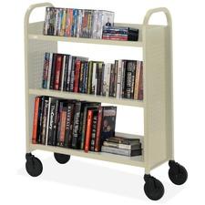 Bretford Basics Voyager Single-Sided Premium Book Truck