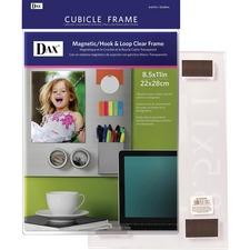 DAX N140285M Burns Grp. Magnetic Hook/Loop Cubicle Frame DAXN140285M