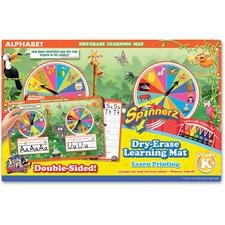 BDU 99100UA12 Board Dudes SpinnerZ Dry-erase Learning Mat BDU99100UA12
