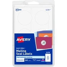 AVE 5278 Avery Round Booklet Seals  AVE5278