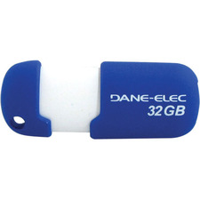 Dane-Elec 32GB Capless DA-ZMP-32G-CA-A1-R USB 2.0 Flash Drive
