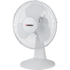 "LLR 44551 Lorell 12"" Oscillating Desk Fan LLR44551"