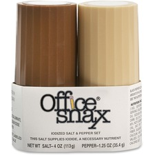 OFX 00057 Office Snax Salt and Pepper Shaker Set OFX00057