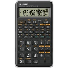 SHR EL501XBGR Sharp 10-Digit 131 Function Scientific Calculator SHREL501XBGR