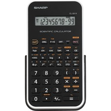 SHR EL501XBWH Sharp EL-501XBWH Scientific Calculator SHREL501XBWH