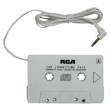 RCA MP3/CD Player Audio Cassette Adapter