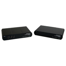 StarTech.com USB DVI KVM Console Extender w/ True USB 2.0 and Audio - 500m