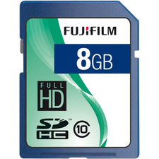 Fujifilm 600008927 8 GB Secure Digital High Capacity (SDHC)