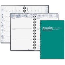 HOD 274RTG09 Doolittle Wirebound Leatherette Weekly Planner HOD274RTG09