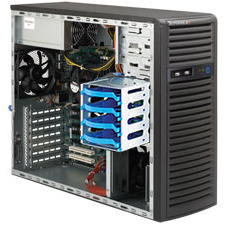 Supermicro SYS-5037C-T SuperServer 5037C-T Barebone System