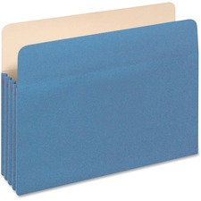 "PFX 1524EBLU Pendaflex 3-1/2"" Expansion Colored File Pockets PFX1524EBLU"