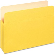 "PFX 1524EYEL Pendaflex 3-1/2"" Expansion Colored File Pockets PFX1524EYEL"