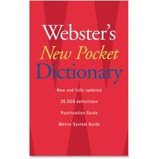 HOU 1019934 Houghton Mifflin Webster's New Pocket Dictionary HOU1019934