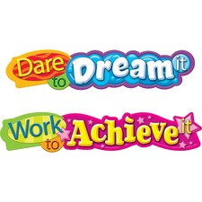 TEP T25053 Trend Dare To Dream Expressions Banner TEPT25053
