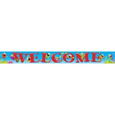 TEP T25049 Trend Frog-tastic! Theme Welcome Banner TEPT25049