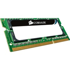 Corsair Mac Memory - Memory - 8 GB : 2 x 4 GB - SO DIMM 204-pin - DDR3 - 1066 MHz / PC3-8500 - CL7 - 1.5 V - unbuffered - non-ECC