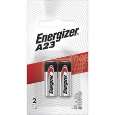 EVE A23BPZ2 Energizer A23 Electronic 12V Alkaline Battery EVEA23BPZ2