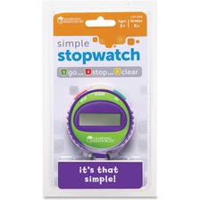 LRN LER0808 Learning Res. Simple Stopwatch LRNLER0808