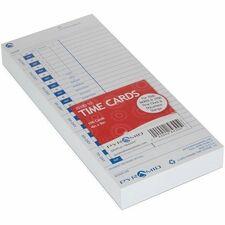 PTI 3510010 Pyramid 3500/3700 Time Clock Universal Time Cards PTI3510010