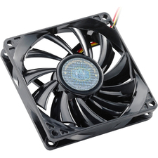 Cooler Master Sleeve Bearing 80mm Slim Silent Fan for Computer Cases and CPU Coolers