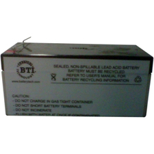BTI Replacement Battery #47 for APC - UPS battery lead acid