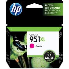 HP 951XL (CN047AN) Original Ink Cartridge - Inkjet - 1500 Pages - Magenta - 1 Each