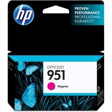 HP 951 (CN051AN) Original Ink Cartridge - Inkjet - Standard Yield - 700 Pages - Magenta - 1 Each
