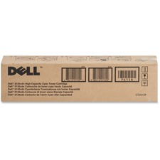 Dell - Toner cartridge - High Capacity - 1 x cyan