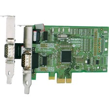 Brainboxes PX-101 2-port PCI Express Serial Adapter