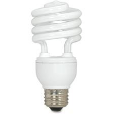 SDN S7225 Satco T2 18-watt Mini Spiral CFL Bulb SDNS7225