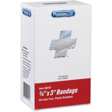 ACM 90242 Acme Xpress First Aid Refill Plastic Bandages ACM90242
