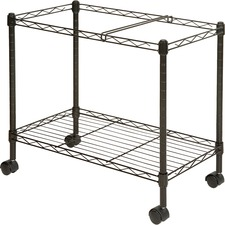 LLR 45651 Lorell Letter/Legal Wire File Cart LLR45651