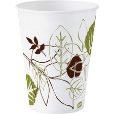 Dixie Pathways Design Wise Size Cold Cups - 3 fl oz - 50 / Pack - White - Wax Paper - Cold Drink