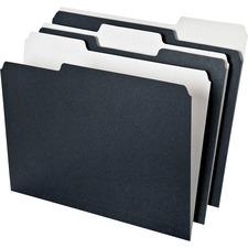 PFX 16101 Pendaflex Earthwise 2-tone 1/3 Cut File Folders PFX16101