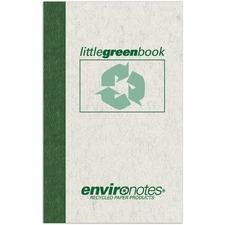 ROA 77356 Roaring Spring Little Green Memo Book ROA77356