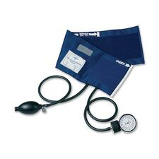 Medline Handheld Aneroid Sphygmomanometers - For Blood Pressure - Latex-free - Blue - Adult - Polyvinyl Chloride (PVC)