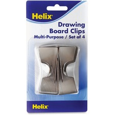 HLX 17587 Helix Multipurpose Drawing Board Clips HLX17587