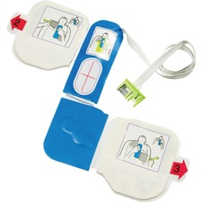ZOLL Medical AED Plus Defibrillator 1-piece Electrode Pad - 1 Each