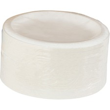 """Dixie Pathways Everyday Paper Plates - 8.50"""" Diameter Plate - Paper - White - 125 Piece(s) / Pack"""