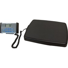 Health o Meter Professional Remote Digital Scale - 500 lb / 220 kg Maximum Weight Capacity - Black, Gray