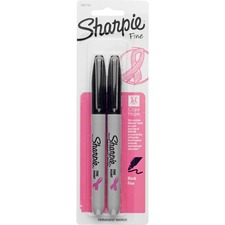SAN 1801743 Sanford Sharpie Fine Point Pink Ribbon Markers SAN1801743