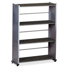 Mayline 994ANT 4-Shelf Bookcase, 31-1/4