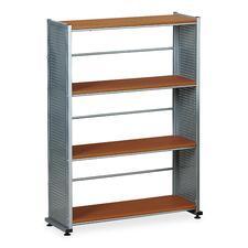Mayline 994MEC 4-Shelf Bookcase, 31-1/4